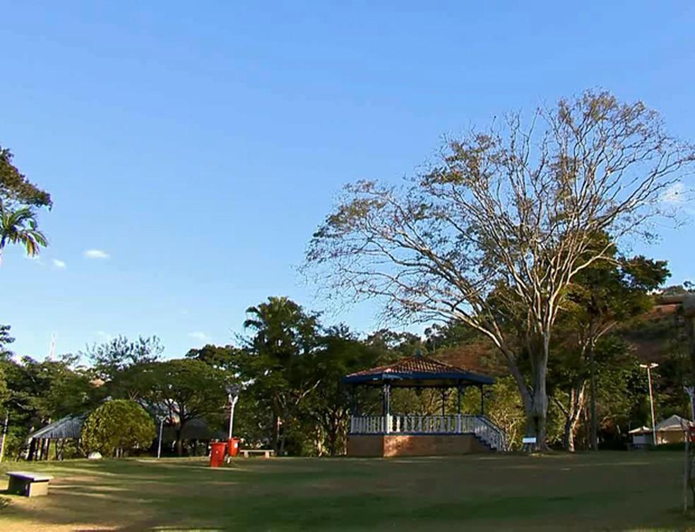 Parque da Lajinha Juiz de Fora — Foto: Reprodução/TV Integração