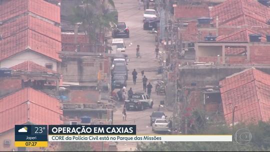 Polícia Civil faz operação em comunidade de Duque de Caxias, RJ