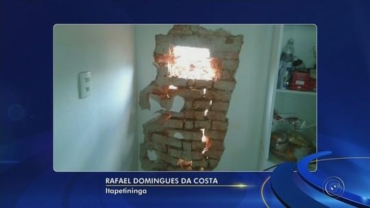 Casas apresentam problemas após construção de edifícios em bairro de Itapetininga