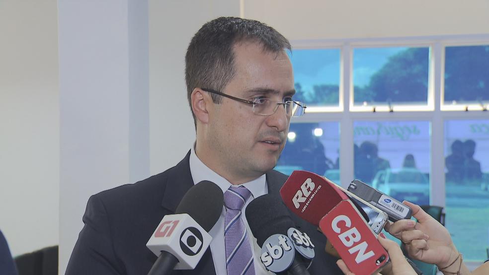 Jorge Couto, diretor de Inteligência da Polícia Civil do DF (Foto: TV Globo/Reprodução)