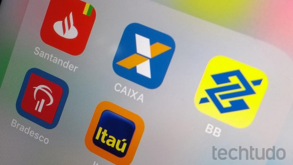 Aplicativos de banco para celular são seguros, mas é preciso tomar alguns cuidados — Foto: Rodrigo Fernandes/TechTudo
