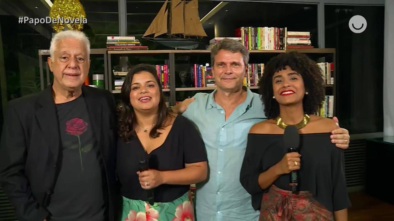 Papo de Novela: Antonio Fagundes e Luiz Henrique Rios falam sobre final de 'Bom Sucesso'