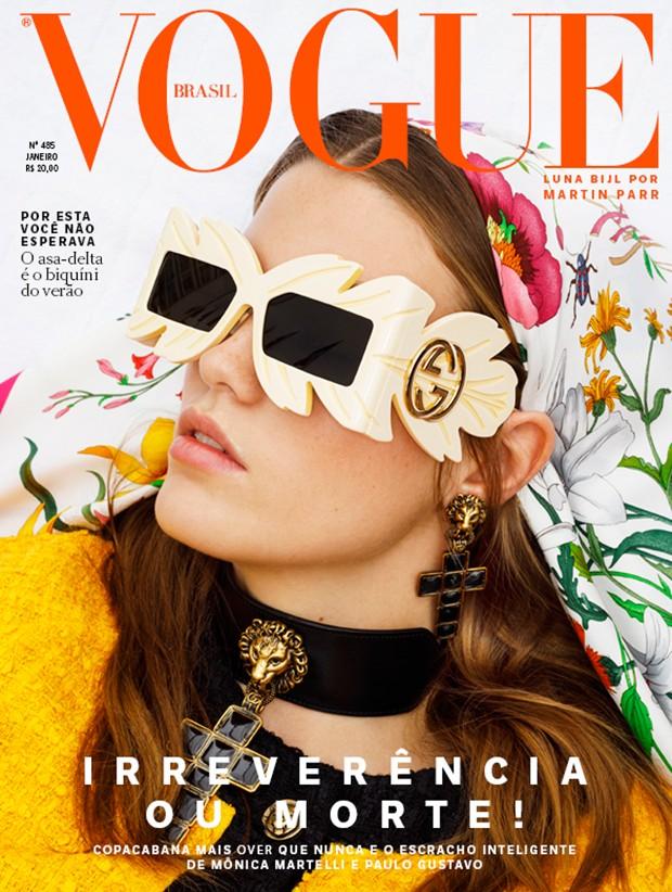 Vogue Brasil - Janeiro 2019 (Foto: Arquivo Vogue/ Martin Parr)