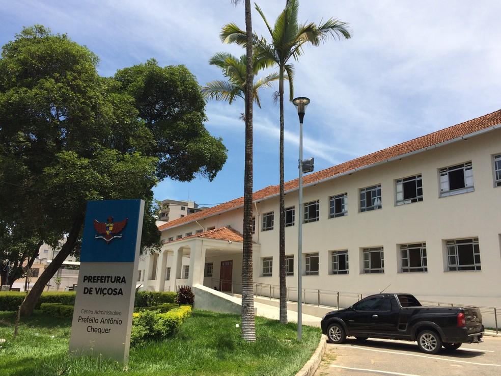 -  Prefeito autoriza bloqueio de recurso para garantir asfaltamento em Avenida de Viçosa  Foto: Prefeitura de Viçosa/Divulgação