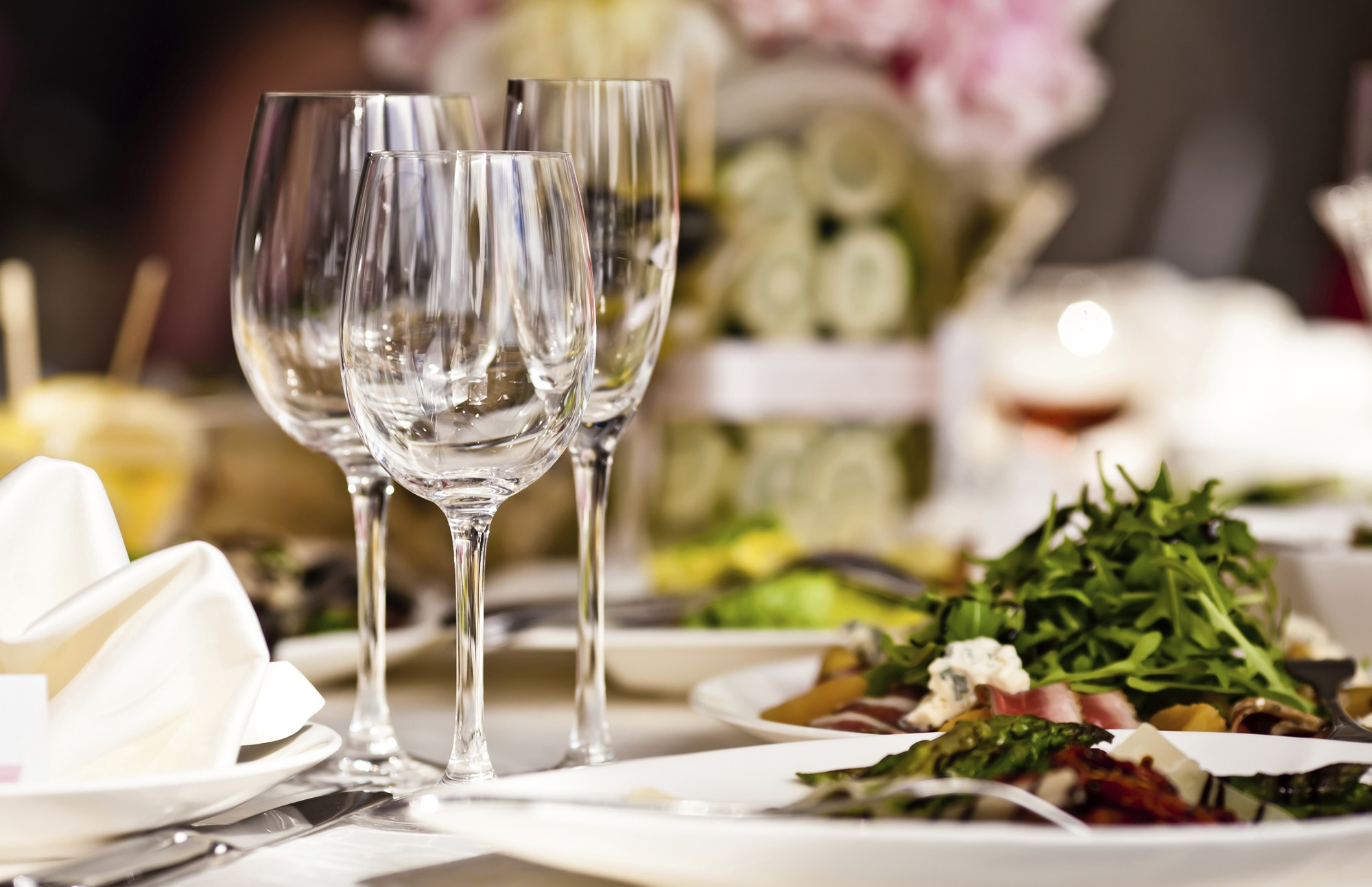 restaurante, taças, luxo (Foto: Thinkstock)