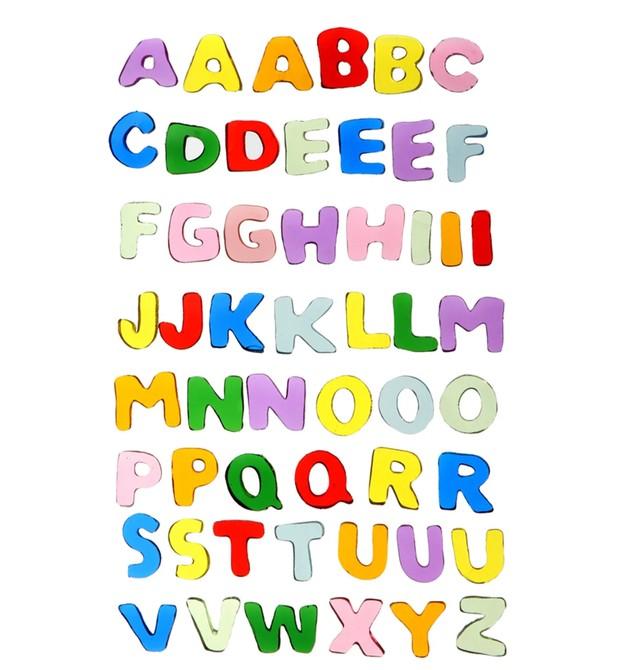 Letras do alfabeto decorador espelho (Foto: Divulgação)