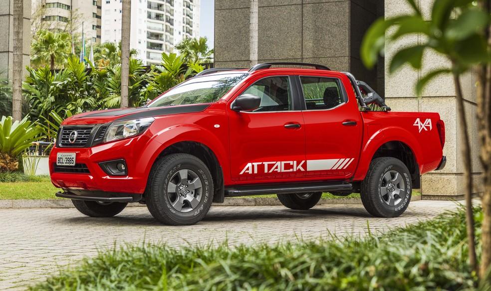Nissan Frontier Attack 4x4 — Foto: Divulgação/Nissan