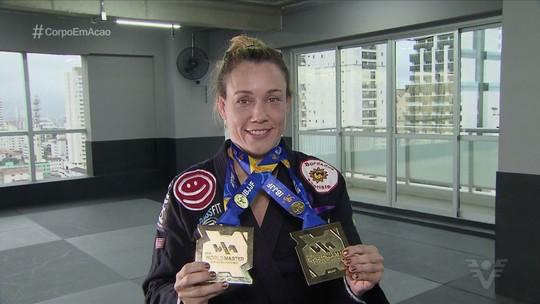 Conheça a história da lutadora Desirèe Favoreto, campeã mundial de jiu jitsu