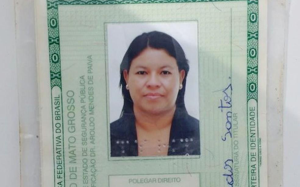 Rosimere dos Santos foi assassinada pelo ex-marido em São José do Povo (Foto: Polícia Civil de MT)