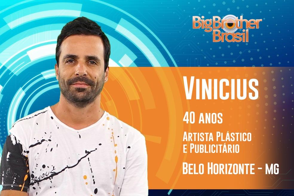 Vinicius, participante do 'BBB19' — Foto: Divulgação