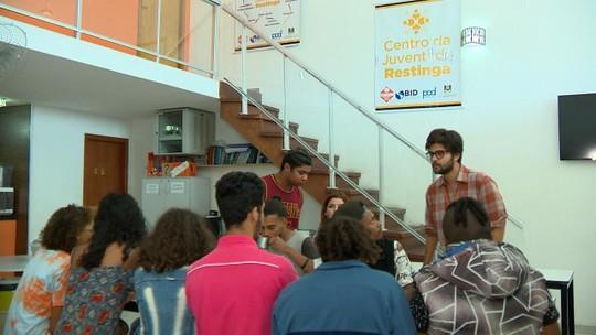 Centros da Juventude oferecem cursos gratuitos para jovens de Porto Alegre, Alvorada e Viamão