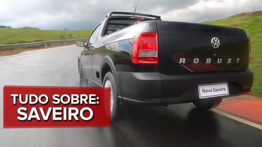 VÍDEO: tudo sobre a Volkswagen Saveiro 2017
