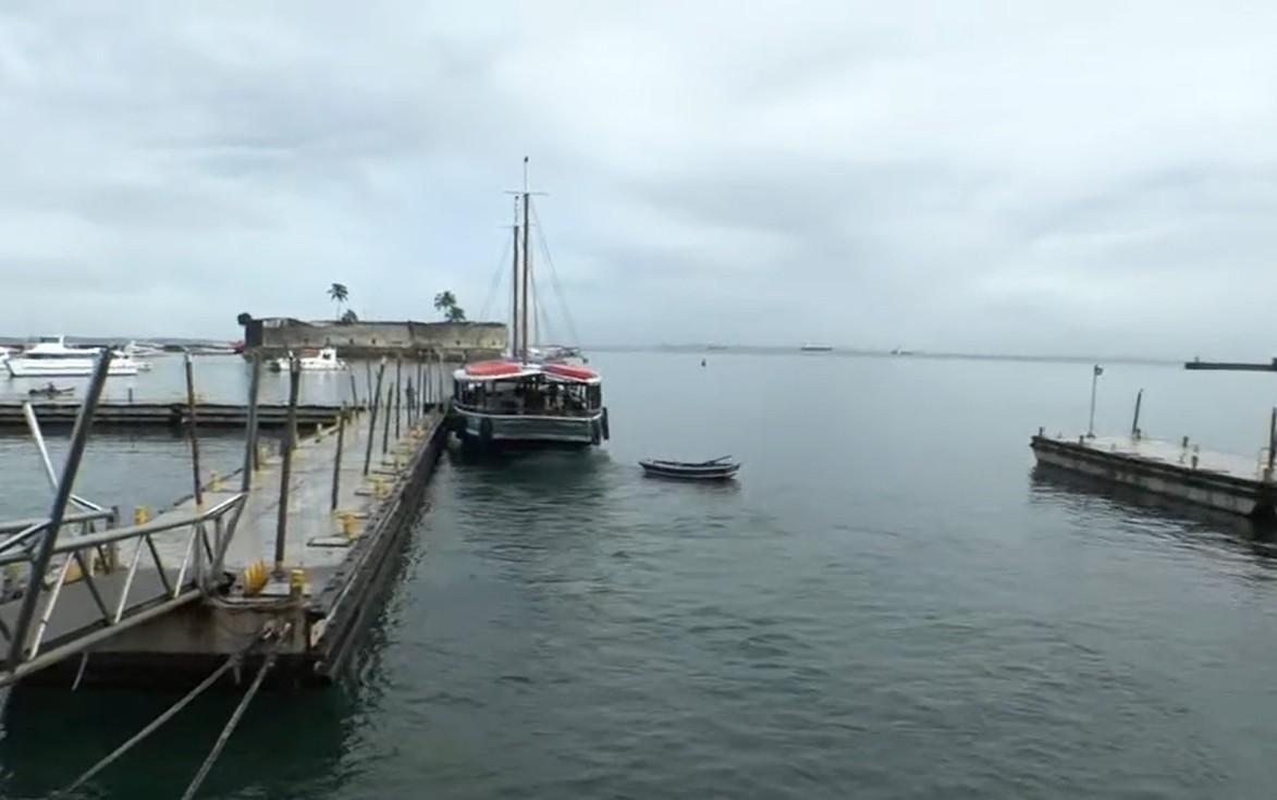 Tempo instável suspende travessia Salvador-Mar Grande nesta quinta-feira