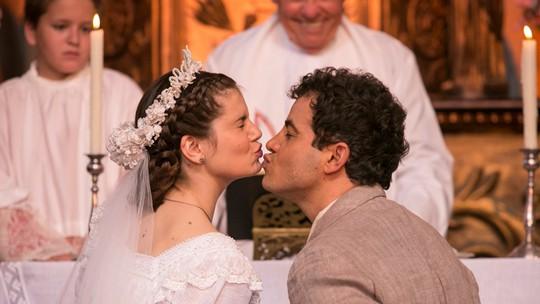 Final: Mafalda se casa com Zé dos Porcos após abandonar Romeu no altar
