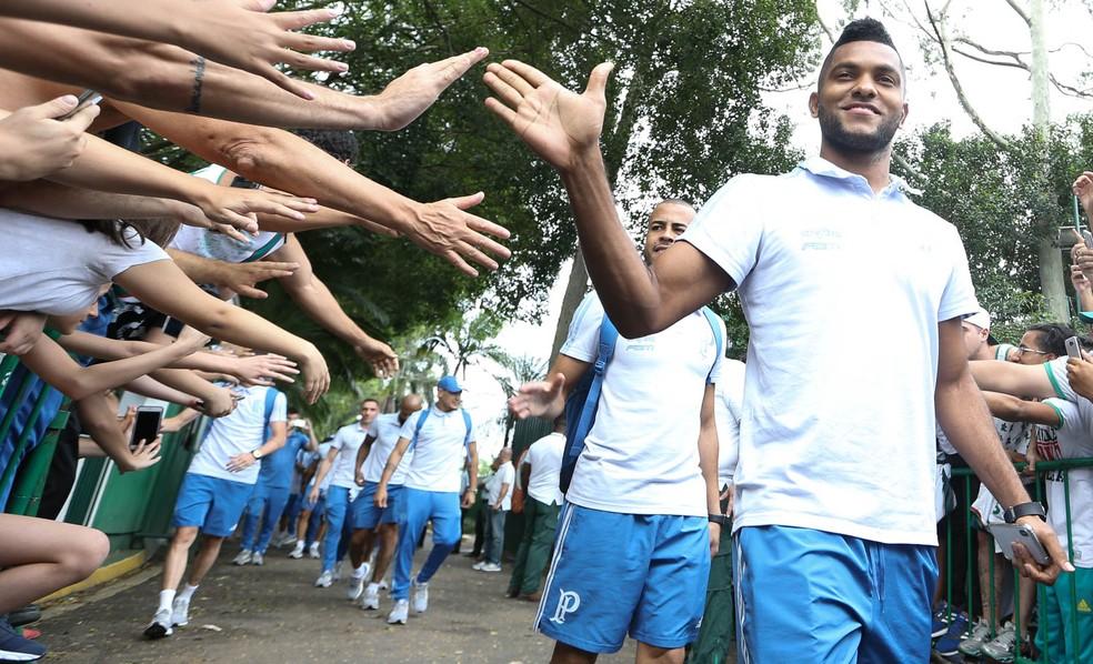 Borja teve o nome especulado na Espanha ? Foto: César Greco / Ag. Palmeiras / divulgação