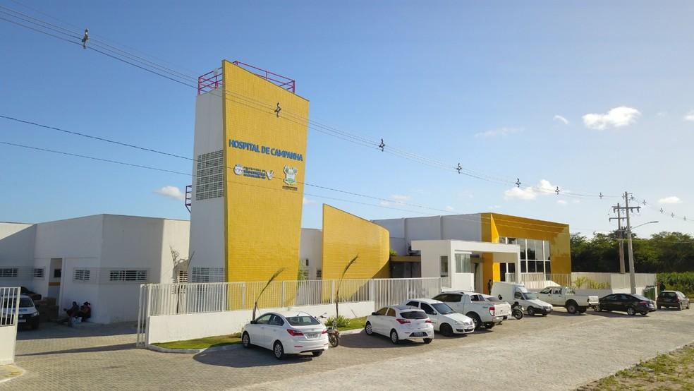 Hospital de Campanha de São Gonçalo do Amarante terá 10 leitos de UTI e 10 leitos clínicos  — Foto: Wendell Jefferson