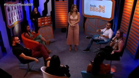 Maratona Rede BBB! Paula diz a Patrícia e Diego: 'Se defenderam de nada. Não tinha ataque'