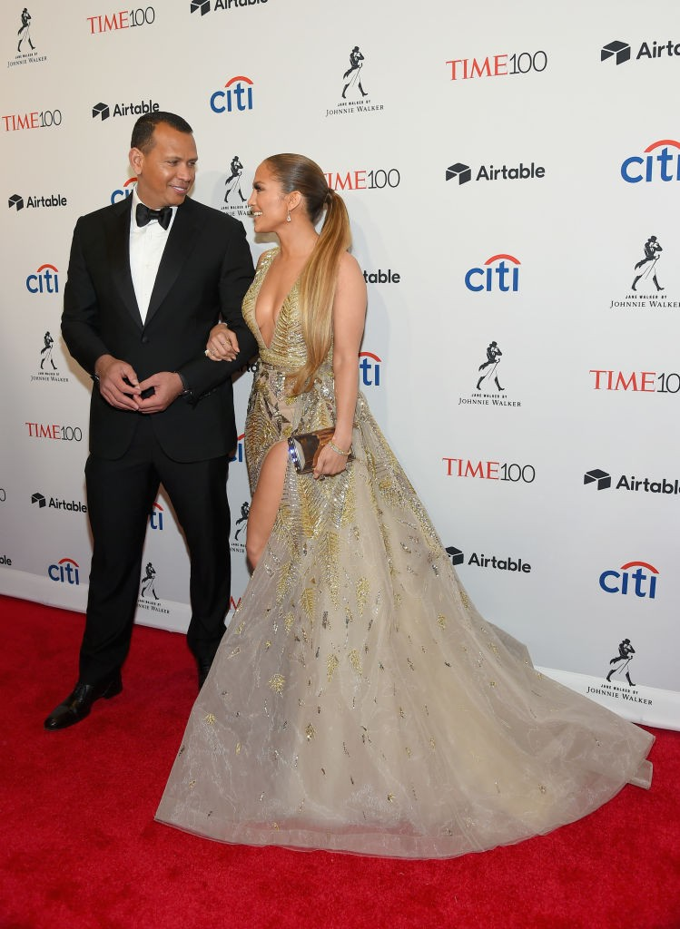Alex Rodriguez e Jennifer Lopez (Foto: Getty Images)