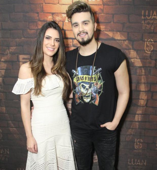 Jade e Luan Santana (Foto: Thyago Andrade/BrazilNews)