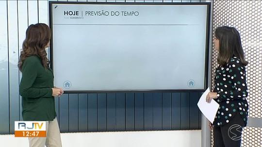 Tempo se mantém instável na quinta-feira no Sul do Rio