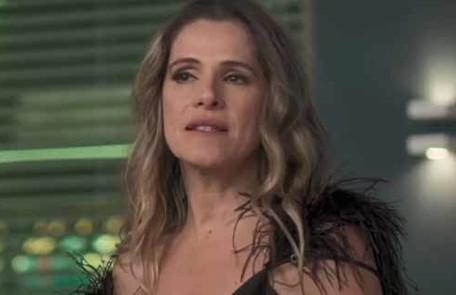 Na terça-feira (17), Silvana (Ingrid Guimarães) inventará para Mario que está grávida TV Globo