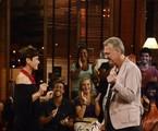 | Xuxa dança com Bial em 'Na moral' e diz que 'beijaria muito' se não fosse famosa/ Foto: Divulgação