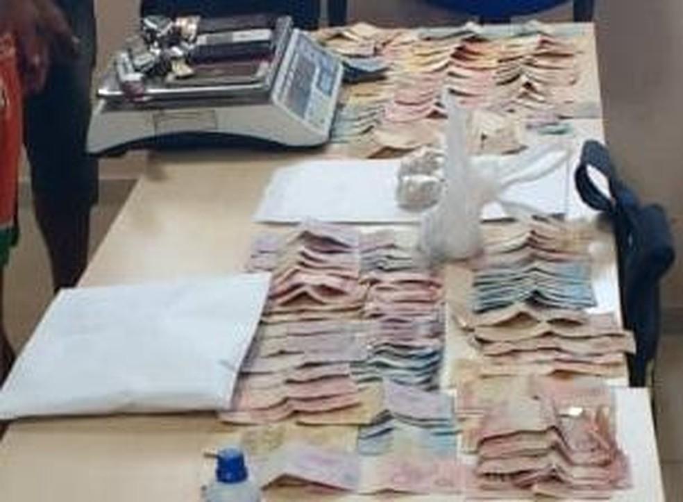 Cerca de R$ 5 mil foi apreendido na operação Petrus (Foto: Ascom/PC)
