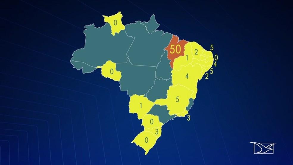 Enquanto quase todos os estados têm apenas 5 capelães, o Maranhão se destaca por ter 50 nomeados. (Foto: Reprodução/TV Mirante)