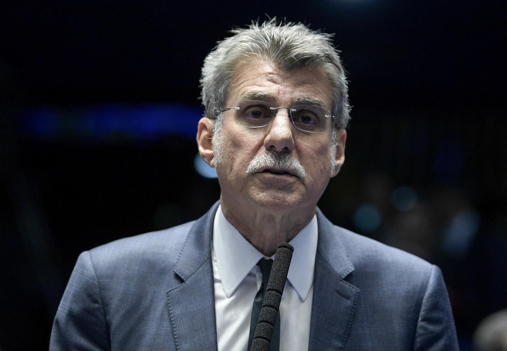 Romero Jucá e Sérgio Machado viram réus na Lava Jato por esquema de corrupção na Transpetro - Notícias - Plantão Diário