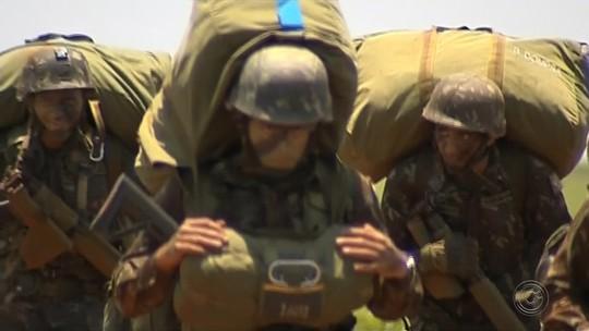 Barra Bonita recebe militares do exército para exercício de guerra