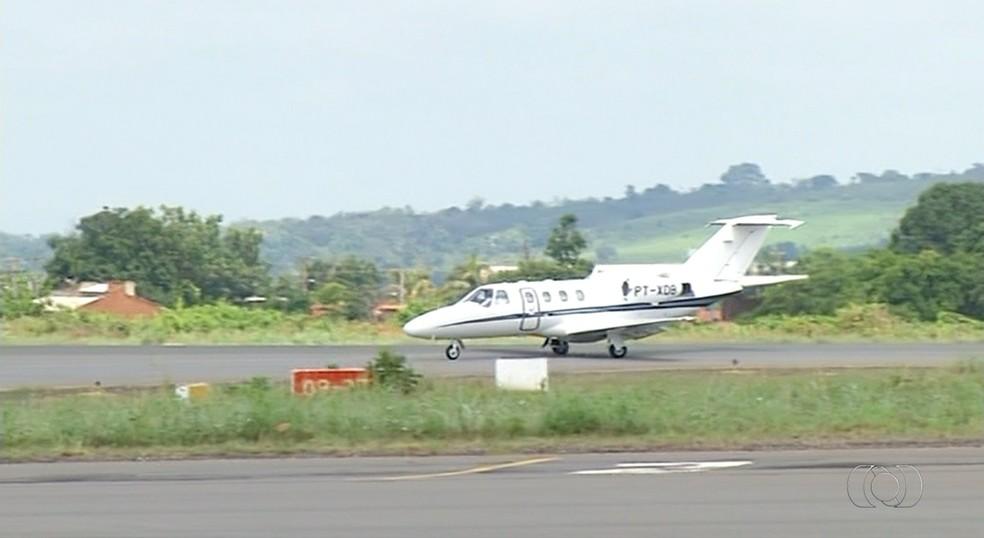 Obras no Aeroporto de Araguaína ainda não têm prazo para começar (Foto: Reprodução/TV Anhanguera)