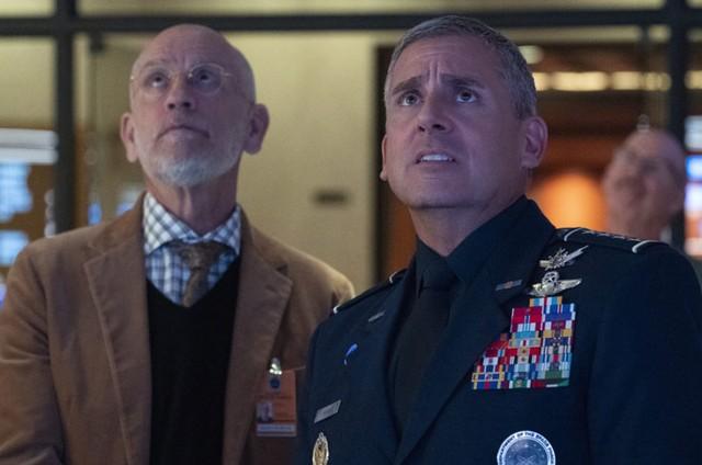 Cena de 'Space Force' (Foto: Netflix)