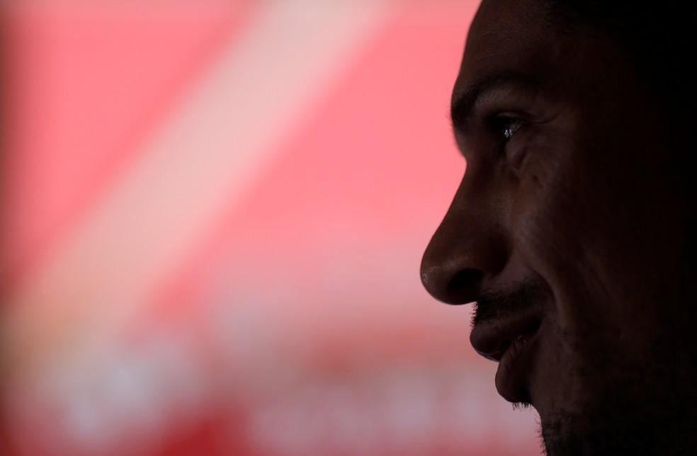 Guerrero segue sem condições de jogo até o dia 3 de maio, quando se encerra a punição imposta pela Fifa pelo doping nas Eliminatórias 2018 (Foto: Ricardo Moraes / Reuters)