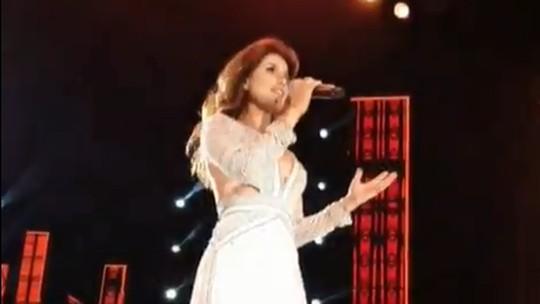 Paula Fernandes canta 'Juntos', versão de 'Shallow', em gravação do seu DVD 'Origens'