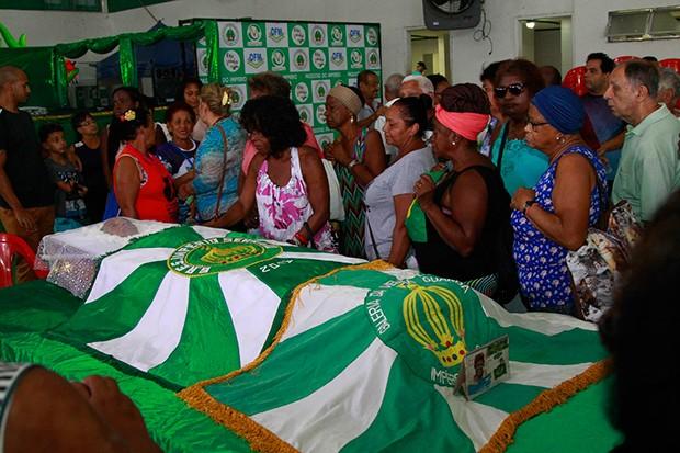 Velório Ivone Lara (Foto: Marcio Cassol /AgNews)