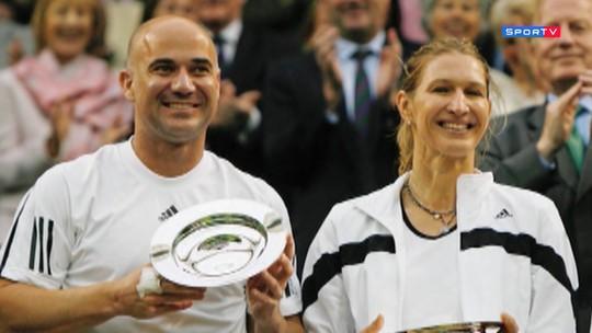 Lendas repassa a carreira de Agassi: campeão nas quadras, um lutador fora dela