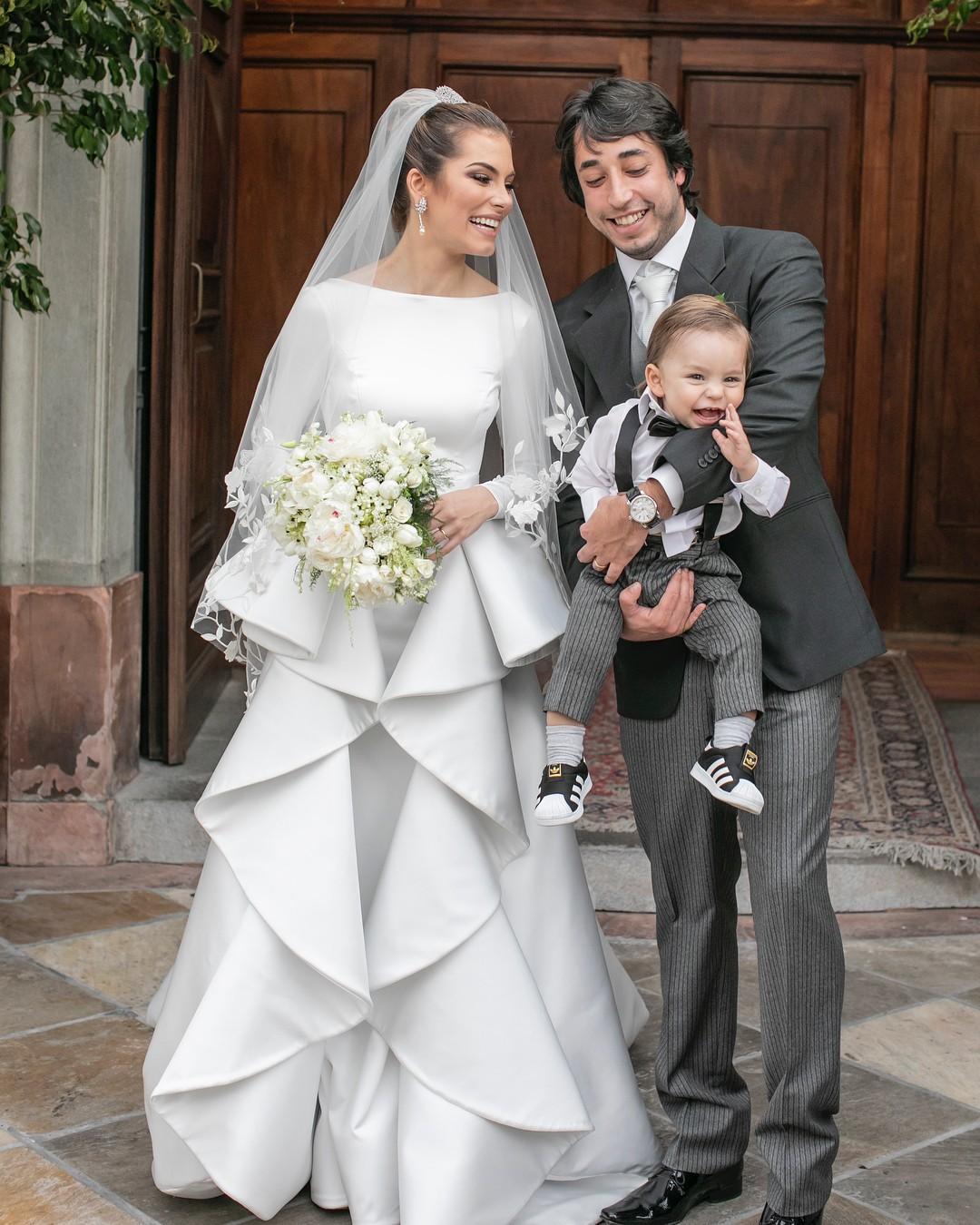 A família no dia do casamento: cerimônia dos sonhos (Foto: Reprodução/Instagram)