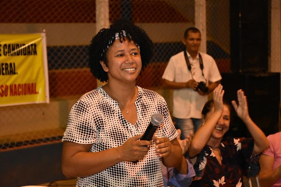 Silvia Cristina foi eleita deputada federal em Rondônia pelo PDT.  — Foto: Arquivo pessoal