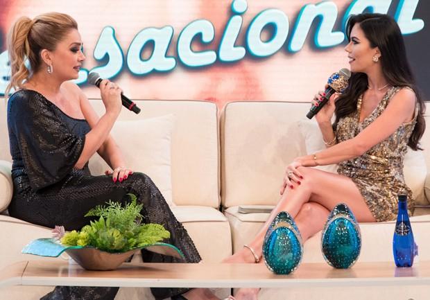 Nani Venâncio e Daniela Albuquerque (Foto: Andrea Dallevo/ RedeTV! )