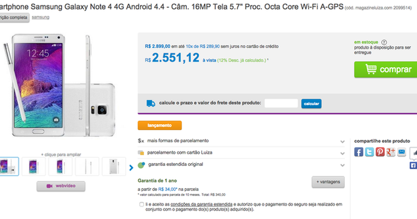 using chromecast with iphone galaxy note 4 aparece em loja horas antes do 1244