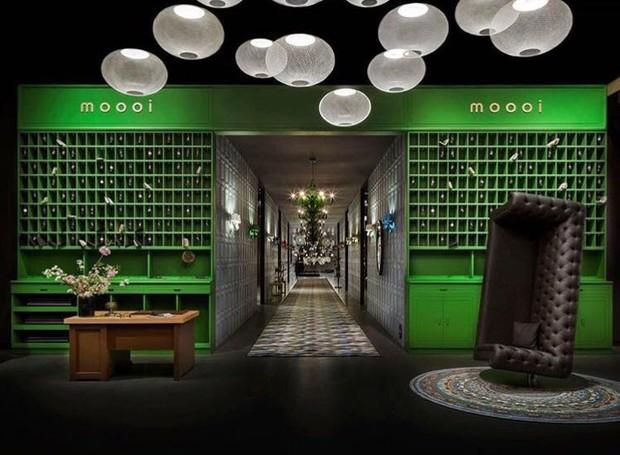 Exposição da Moooi na Zona Tortona em 2017 (Foto: Divulgação)