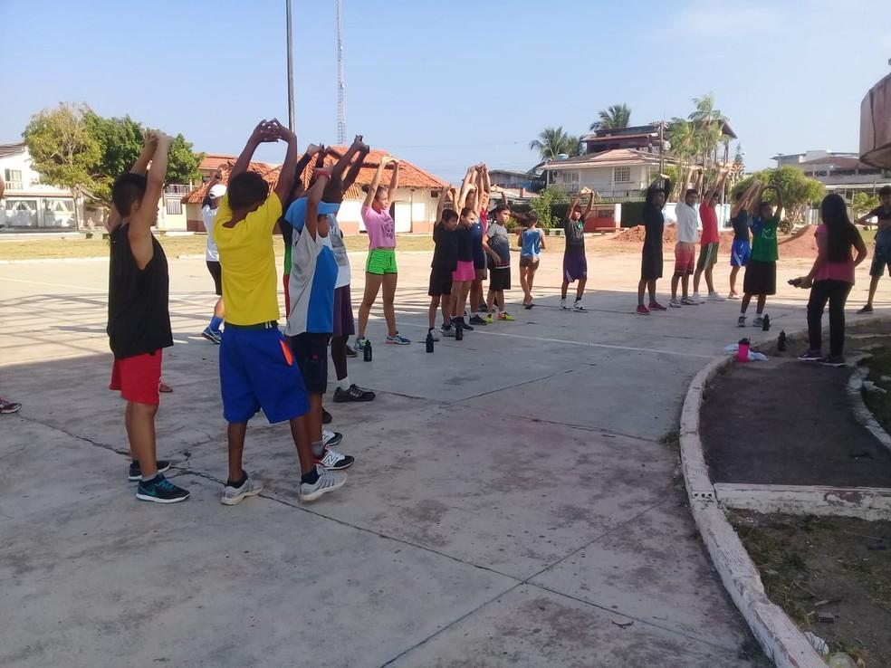 6a0459c6c ... segundo Macapá é a terceira capital brasileira em que mais se pratica  exercício físico regular