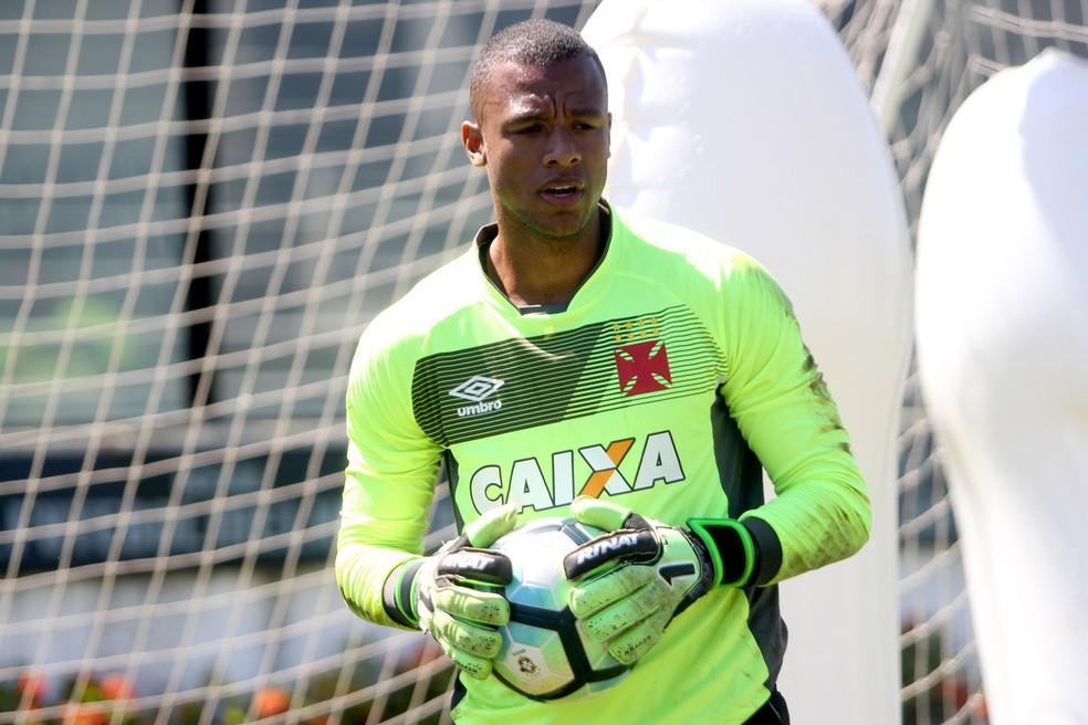 Jordi não faz parte dos planos do Vasco para a temporada — Foto: Paulo Fernandes / Vasco.com.br