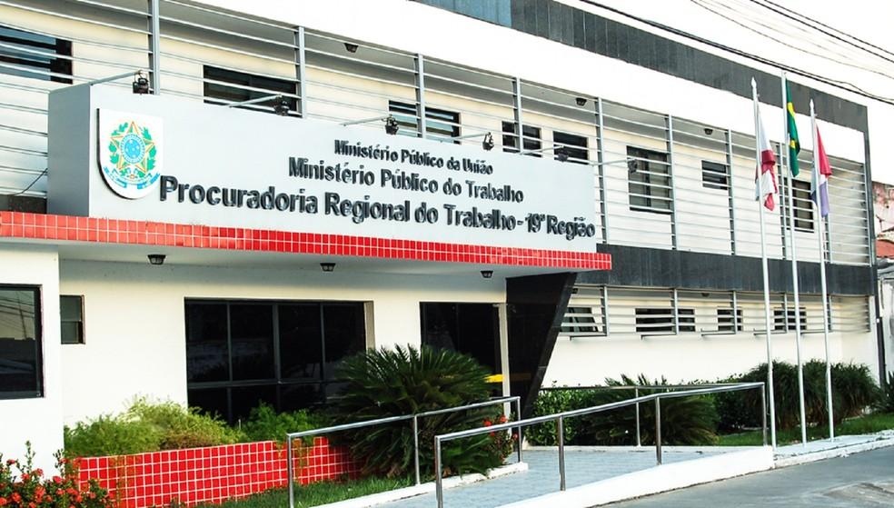 Ministério Publico do Trabalho em Alagoas ingressou com uma ação civil contra hospital — Foto: Divulgação/MPT-AL