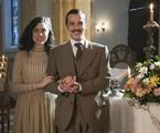 Olivia Torres e Jayme Matarazzo gravam 'Tempo de amar' | Globo / Cesar Alves