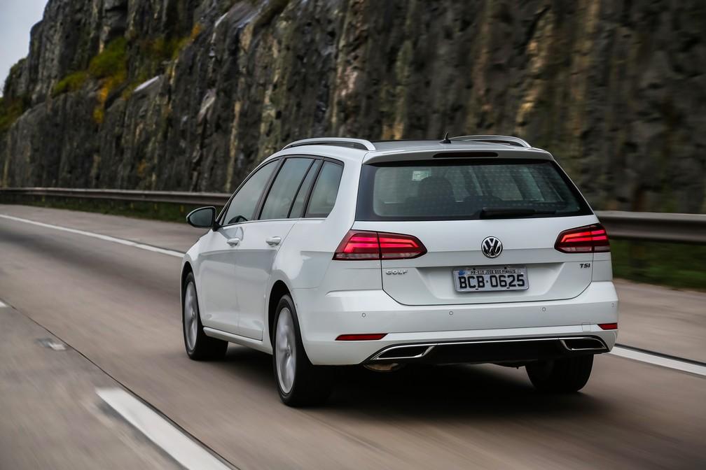 Volkswagen Golf Variant 2018 (Foto: Divulgação)
