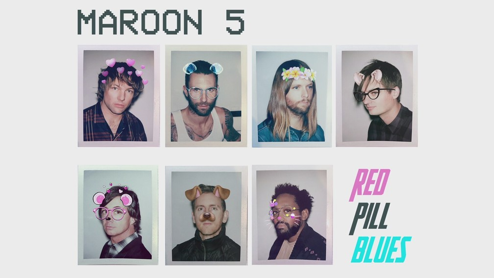 Capa do disco 'Red Pill Blues', do Maroon 5 (Foto: Divulgação/Universal)