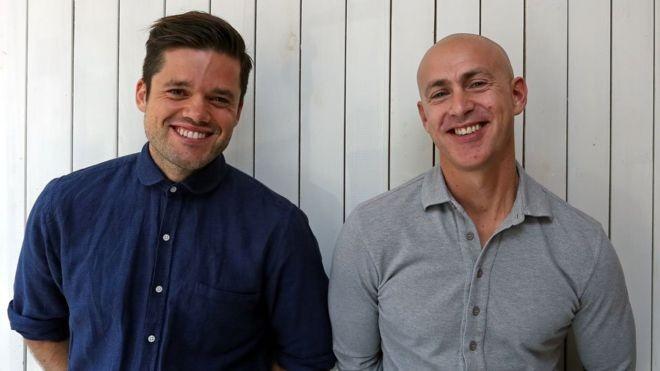 Richard Pierson (à esquerda) e Andy Puddicombe abriram o negócio em 2012 (Foto: GETTY IMAGES/BBC News Brasil)