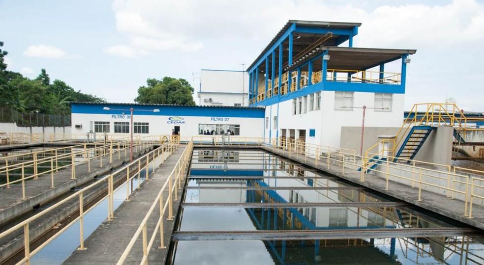 Sistema Imunana-Laranjal da Companhia Estadual de Águas e Esgoto (Cedae) — Foto: Reprodução/Cedae