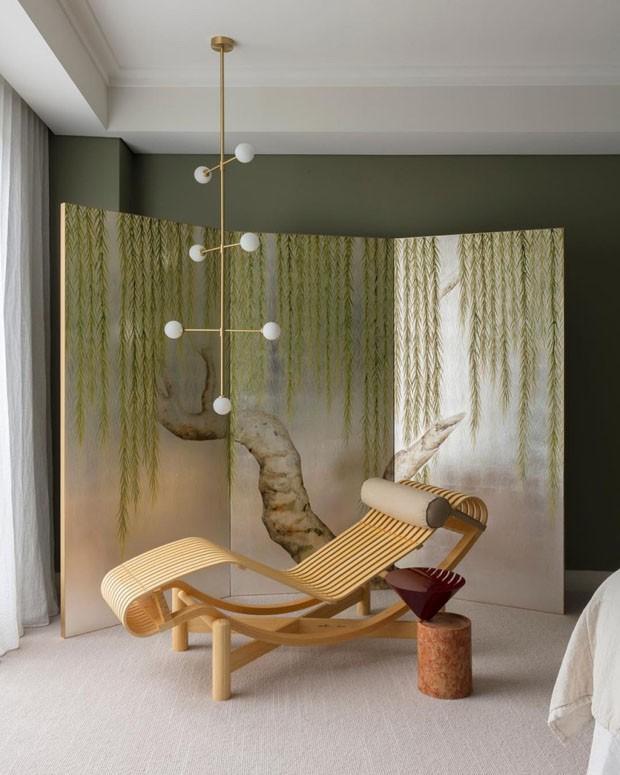 Décor do dia: área para descanso com design (Foto: Divulgação/Reprodução)